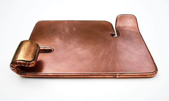 Myra Mimlitsch-Gray - Copper Chiclet Tray